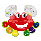 Sassy LeapFrog Baby Curious Crab Rattle ~ Sassy
