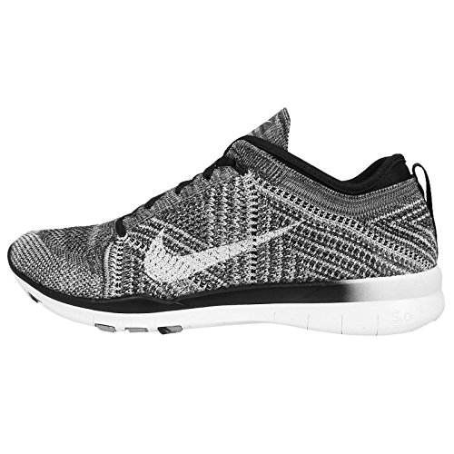 Nike Free Tr Flyknit Womens Cross Training Shoes Black New In Box
