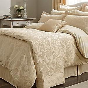 sanderson bedding colwyn kingsize duvet cover gold. Black Bedroom Furniture Sets. Home Design Ideas