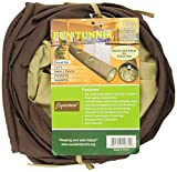 Good ABO Gear Fun Run Tunnel for Cats and S Animals, Brown ❉