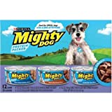 Purina Mighty Dog Prime Cuts Dog Food - 3 Flavor Variety Pack In Gravy (Chicken/Beef/Tenderloin) 2 Pack, 24 ct. (Purple Box) Includes 5 Valuable tips for dog owners