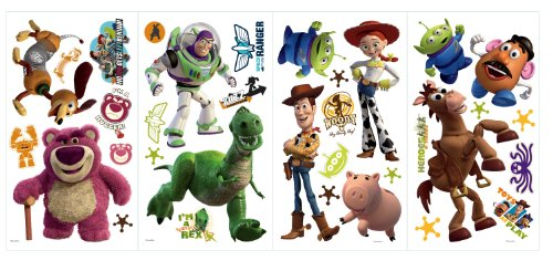 "Disney ""Toy Story 3"" Wall Decal Cutouts 18""x40"""