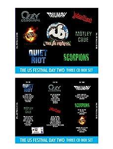 1983 US Festival Metal Day Recordings CD Set Rare (Van Halen, Motley Crue, Ozzy Osbourne, Triumph, Judas Priest and The Scorpions)