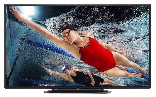 Sharp LC-60LE757 60-inch Aquos Quattron 1080p 240Hz Smart LED 3D HDTV