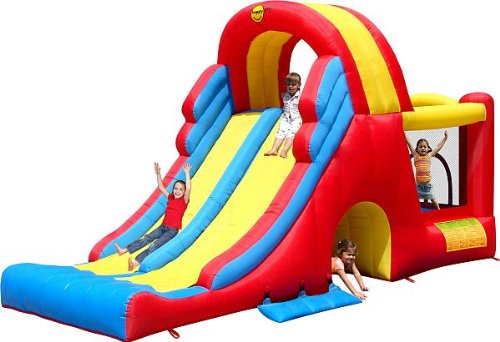 Mega Slide Combo - Brand New 2012 Model - By Duplay The No.1 Supplier To The Uk Home Bouncy Castle Market - Sale Now On Just In Time For Summer. Picture
