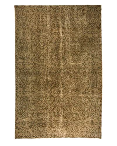nuLOOM One-of-a-Kind Hand-Knotted Overdyed Recife Rug, Sage, 6' 1 x 9' 3