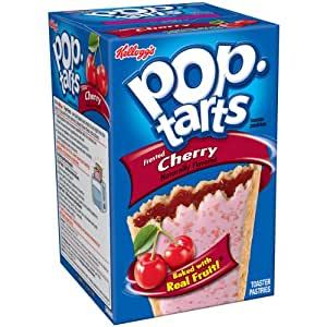 Amazon.com : Pop-Tarts Toaster Pastries Frosted Cherry : Grocery ...