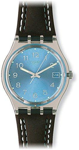 swatch-blue-choco-blue-dial-clear-plastic-black-leather-quartz-mens-watch-gm415