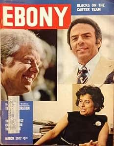 Amazon Com Ebony Magazine March 1977 Andrew Young