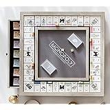 Monopoly Luxe Edition Hasboro White Gold