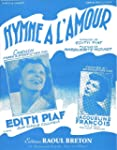 Edith PIAF : Hymne � l'amour - Piano...