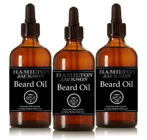 3 organic beard oils 3 x 30ml conditioning male grooming skincare 100 natural with essential. Black Bedroom Furniture Sets. Home Design Ideas