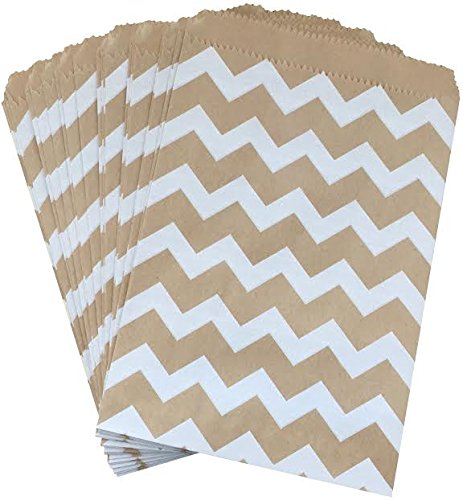 outside-the-box-papers-kraft-brown-and-white-chevron-treat-sacks-55-x-75-48-pack-kraft-brown-white