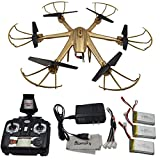 Blomiky-MJX-X601H-Altitude-RC-Hexacopter-with-FPV-Wifi-Camera-2-Battery-and-1-Charger-Gold
