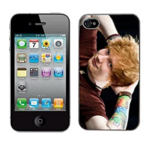 Ed Sheeran Case Fits Iphone 4 & 4s Cover Hard Protective Skin 2 for Apple I Phone