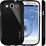Galaxy S3 Case, Caseology® [Daybreak Series] Slim Fit Shock Absorbent Cover [Black] [Slip Resistant] for Samsung Galaxy S3 - Black