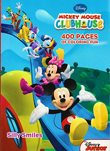Mickey Mouse Clubhouse Gigantic Coloring Book - 400 Pages - 1