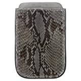 FAB. by Fabienne Chapot Fabienne Chapot Iphone Cover Python, Mallette mixte adulte - Gris-TR-A4-127