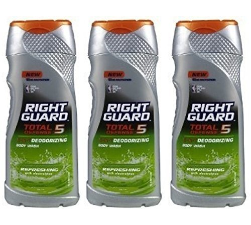 right-guard-total-defense-5-in-1-deodorizing-body-wash-refreshing-with-electrolytes-2-oz-travel-size