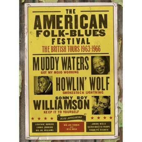 Various Artists - The American Folk Blues Festivals 1963-1966 - The British Tours - Various Artists [2007] - Zortam Music