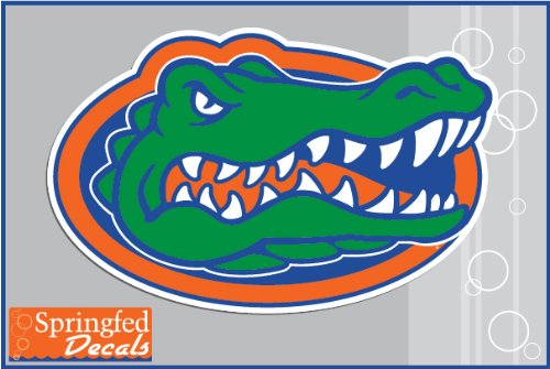 "Florida Gators Gator Head Logo 4"" Vinyl Decal Car Truck Window Sticker Uf"