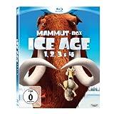 Ice Age 1, 2, 3 & 4