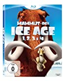 DVD - Ice Age 1, 2, 3 & 4 (Mammut-Box) (4 Blu-rays) [Blu-ray]