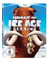 Ice Age - Teil 1-4 (Mammut-Box) [Blu-ray]