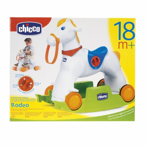 Cavallo A Dondolo Chicco Rodeo.Cieska Online Chicco 70603 Chicco Rodeo Cavalcabile 3 In 1