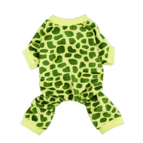Fitwarm Cute Turtle Pet Dog Costumes Jumpsuit Soft Velvet Clothes Apparel, Medium