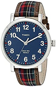 Timex Unisex TW2P69500AB Heritage Collection Analog Display Quartz Brown Watch