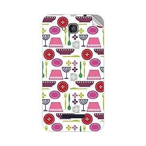 Garmor Designer Mobile Skin Sticker For Panasonic P31 - Mobile Sticker