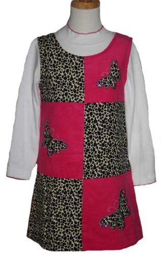 CLEARANCE New Fuchsia Leopard Butterfly Jumper Dress with Turtleneck 2T to 6X - Buy CLEARANCE New Fuchsia Leopard Butterfly Jumper Dress with Turtleneck 2T to 6X - Purchase CLEARANCE New Fuchsia Leopard Butterfly Jumper Dress with Turtleneck 2T to 6X (Rare Editions, Rare Editions Dresses, Rare Editions Girls Dresses, Apparel, Departments, Kids & Baby, Girls, Dresses, Girls Dresses, Jumpers, Girls Jumpers, Jumper Dresses, Girls Jumper Dresses)