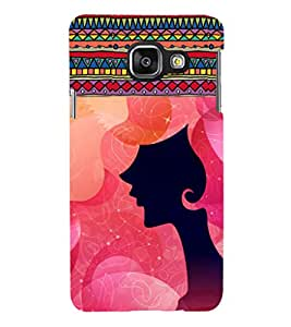 iFasho fashion Girls Back Case Cover for Samsung Galaxy A3 A310 (2016 Edition)