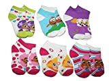 Bubble Guppies Toddler Socks 2T-4T 6 Pairs