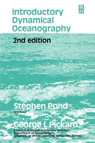 Introductory Dynamical Oceanography, Second Edition