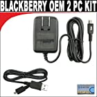 ORIGINAL Set OEM Travel charger + OEM Data cable for your Blackberry Curve Javelin 8900