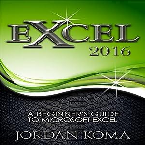 Excel 2016 Audiobook