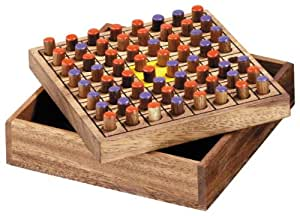 "Wooden Othello (5.5"" X 5.5"")(colors may vary)"