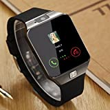 #9: Moto G5 Plus Compatible A Z Link Bluetooth DZ09 Smart Watch Wrist Watch Phone with Camera & SIM Card Support Hot Fashion New Arrival Best Selling Premium Quality Lowest Price with Apps like Facebook, Whatsapp, Twitter, Time Schedule, Read Message or News, Sports, Health, Pedometer, Sedentary Remind & Sleep Monitoring, Better Display, Loud Speaker, Microphone, Touch Screen, Multi-Language, Compatible with Android iOS Mobile Tablet-Assorted Color