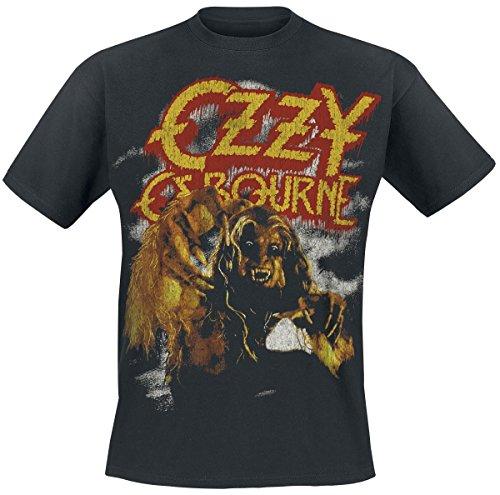 Ozzy Osbourne -  T-shirt - Uomo nero X-Large