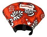 Cuddle Cone Soft E-collar, Small - Red Hawaiian