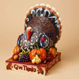 Jim Shore Give Thanks Turkey Figurine