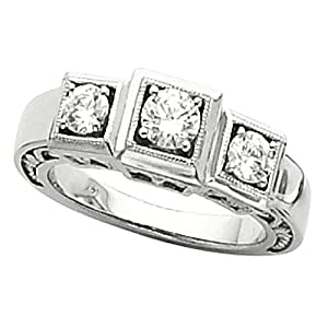 where to buy platinum three anniversary ring