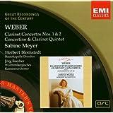 Weber : Concertos pour clarinette n° 1 et n° 2 - Concertino et Quintette pour clarinette