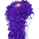Cynthia's Feathers 80g Chandelle Feather Boa(Regal Purple)