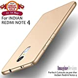 #9: Wow Imagine All Sides Protection Sleek Rubberised Matte Hard Case Back Cover For Xiaomi Mi Redmi Note 4 , Champagne Gold