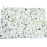 "Artificial 24"" X 16"" Inches White Flowers Panel. Suggested Uses Include Backdrop Photography, Garden Decor, Wedding Decorations, Flower Crafts and Landscaping."