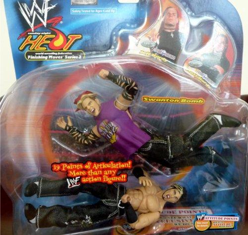 "Buy Low Price Jakks Pacific JEFF HARDY vs. MATT HARDY WWE WWF Sunday Night Heat Finishing Moves 3 ""Swanton Bomb"" Figures (B004X22JL4)"