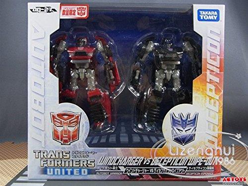 Transformers Takara Tomy United UN-27 Winocharger VS Decepticon Wipeout (Transformers United compare prices)